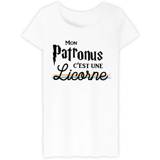harry potter patronus licorne welcome to create and sell your t shirts free of. Black Bedroom Furniture Sets. Home Design Ideas